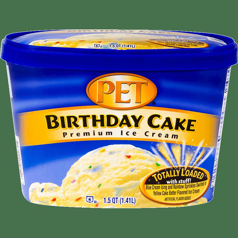 Birthday Cake Ice Cream 1.5 Quart