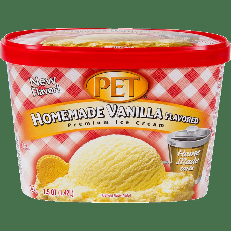 Homemade Vanilla Ice Cream 1.5 Quart
