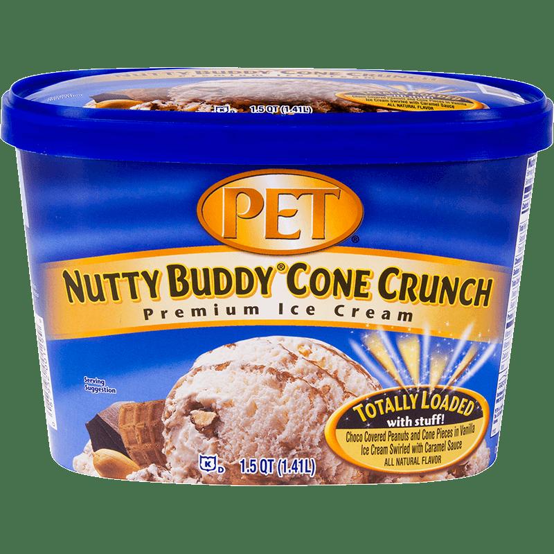Nutty Buddy<sup>®</sup> Cone Crunch Ice Cream 1.5 Quart