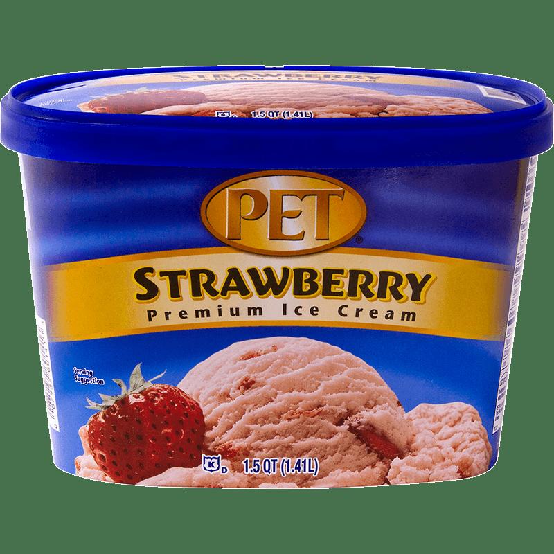 Strawberry Ice Cream 1.5 Quart