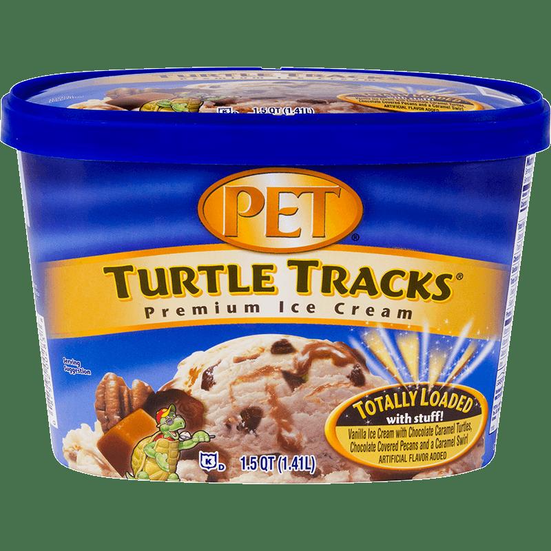 Turtle Tracks<sup>®</sup> Ice Cream 1.5 Quart