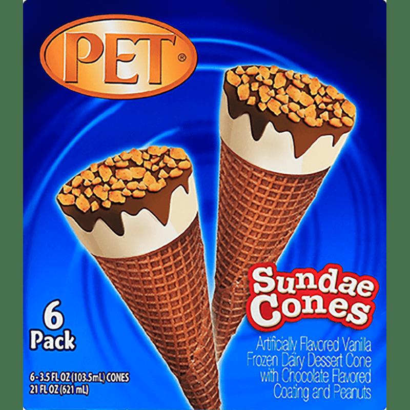 Sundae Cones 6 Pk